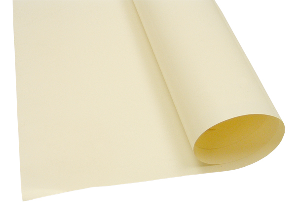 A roll of SARAN vapor barrier