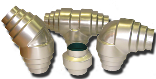 Aluminum grooved fittings