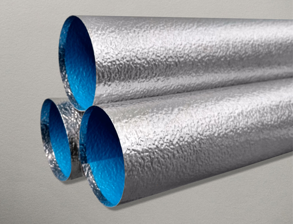 Metal Pipe Jacketing with Moisture Barrier
