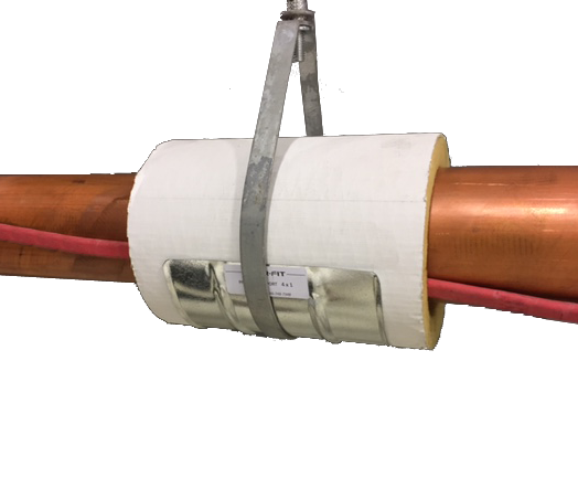 Heat Duct Supports : Pro pipe supports